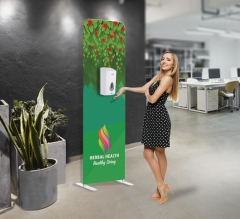 Touch-Free Dispenser Floor Stand