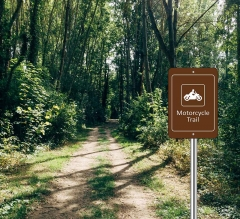 Custom Trail Markers Signs