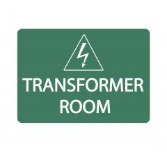 Transformer Room Sign