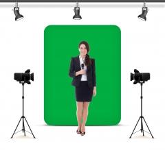 Green Screen Wall Box Background
