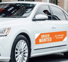 Wanted Car Signs