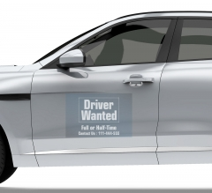 Wanted Car Signs Clear