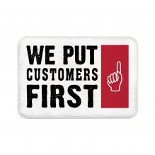 We Put Customers First Floor Mats