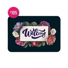 Free Welcome Indoor Floor Mats (4' x 3')
