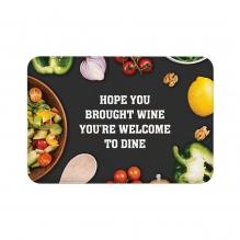 Welcome To Dine Floor Mats