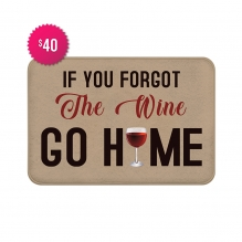 Free Wine Indoor Floor Mats (2.25' x 1.5')