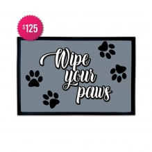 Free Wipe Your Paws Outdoor Floor Mats (3' x 2')