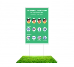 Yard Safety Signs