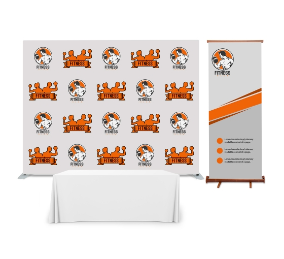 10' x 8' Backdrop Display Package
