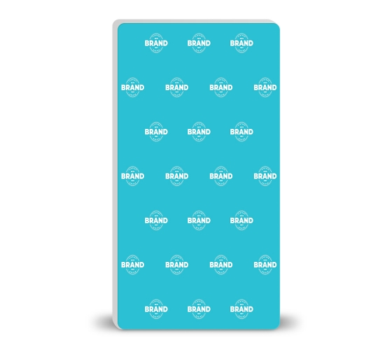 8 ft x 15 ft Step and Repeat Wall Box Fabric Display