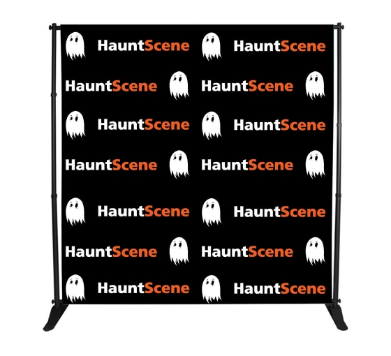 8x8 Step and Repeat Fabric Banner