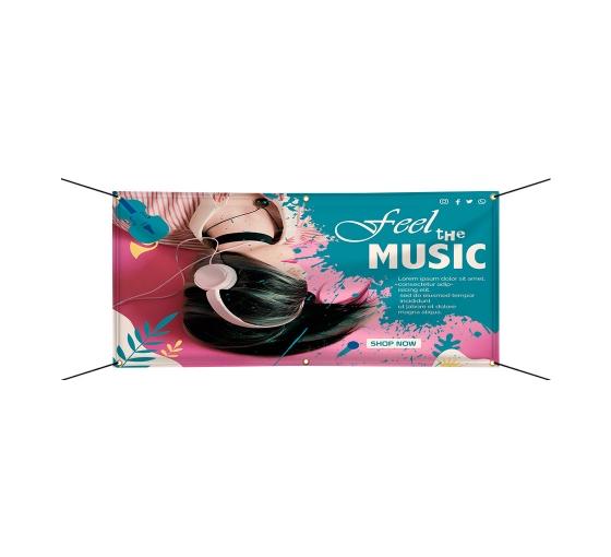 Art Music & Entertainment Banners