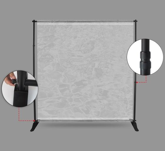 Adjustable Screen Sneeze Shield