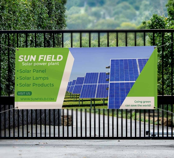 Eco-Friendly Banners