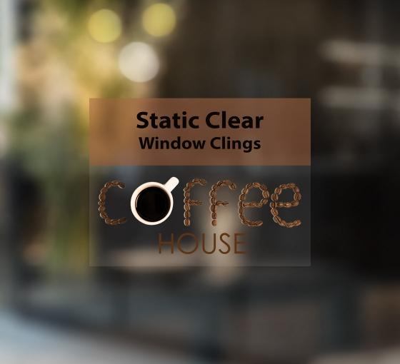 Static Clear Window Clings