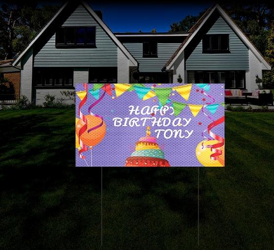 Yard Signs HIP Reflective