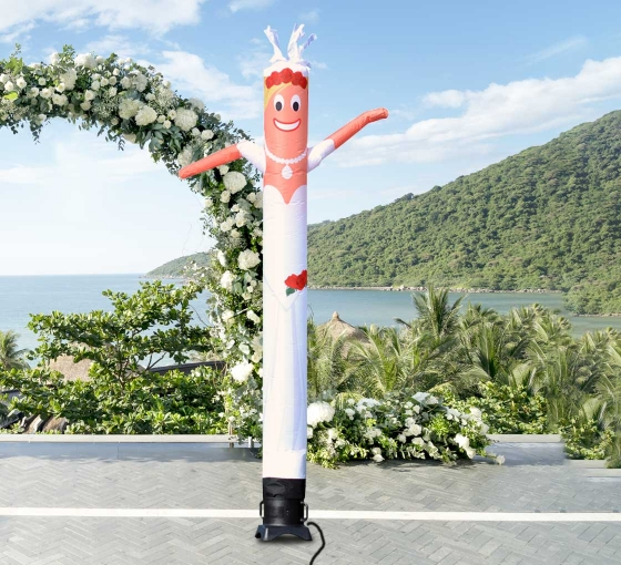 Bride Inflatable Tube Man Character