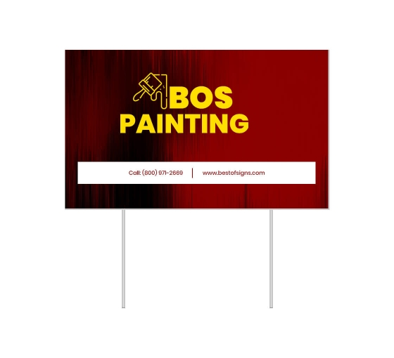 Cheap Business Advertising Yard Signs