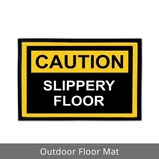Caution Outdoor Floor Mats