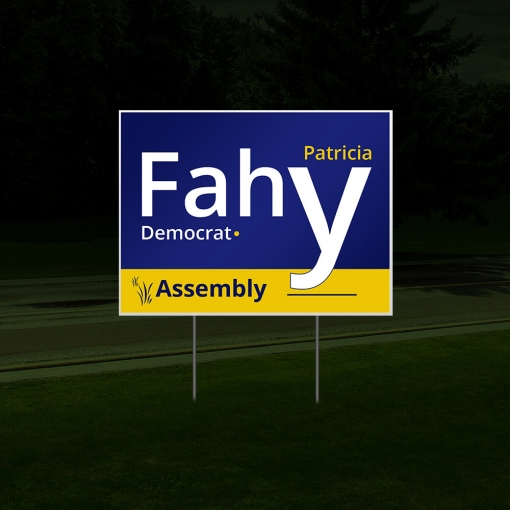 Cheap Political Signs/Campaign Signs - Reflective