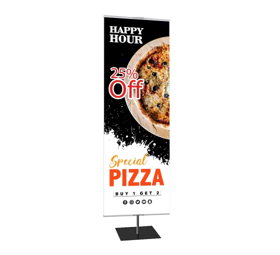 Classic Small Tabletop Banner Stands