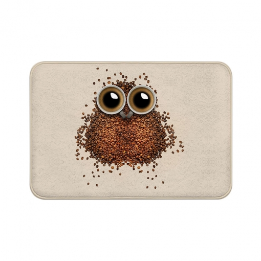 Coffee Beans Floor Mats