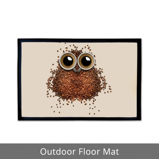Coffee Beans Outdoor Floor Mats