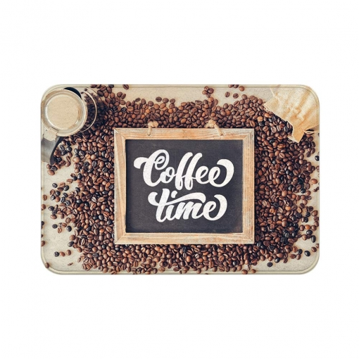 Coffee Time Floor Mats