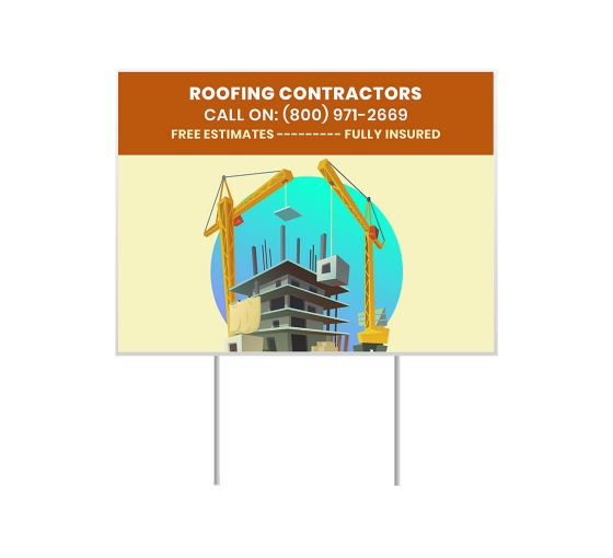 Cheap Contractor Signs