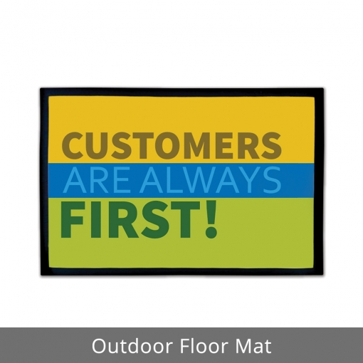 Customers First Outdoor Floor Mats