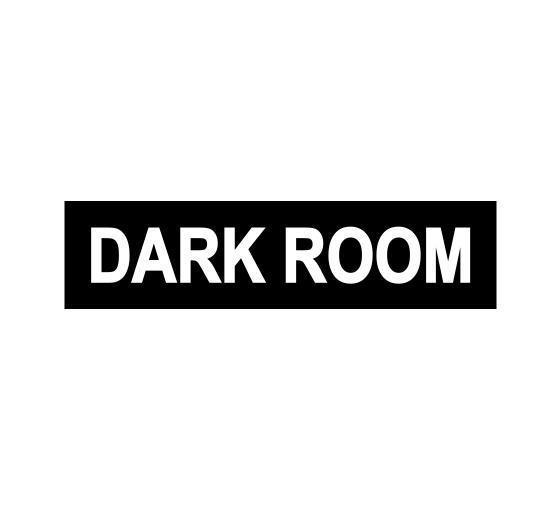 Dark Room Sign