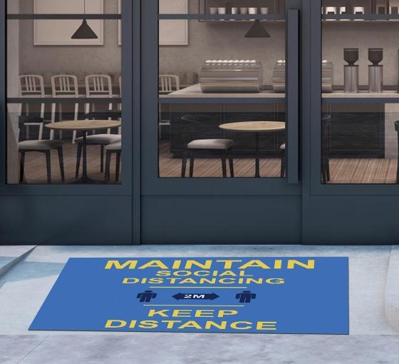 DigiPrint HD Logo Mats - Landscape