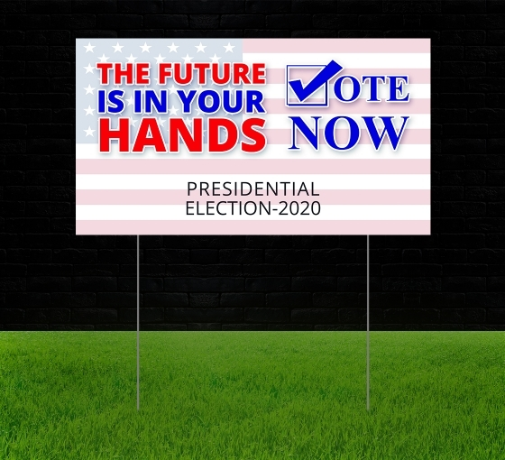 Election Reflective Signs