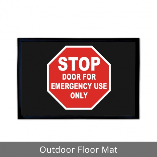 Emergency Use Outdoor Floor Mats