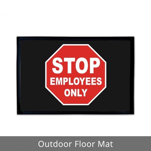Employees Only Outdoor Floor Mats