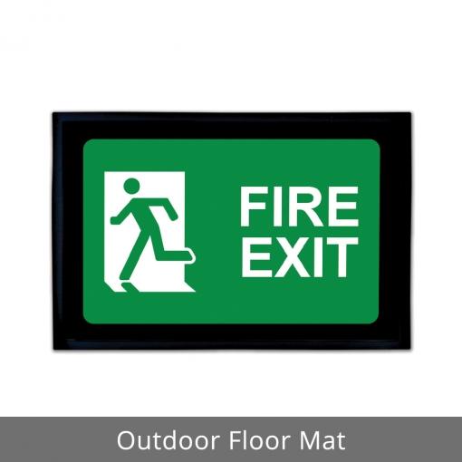 Fire Exit Outdoor Floor Mats