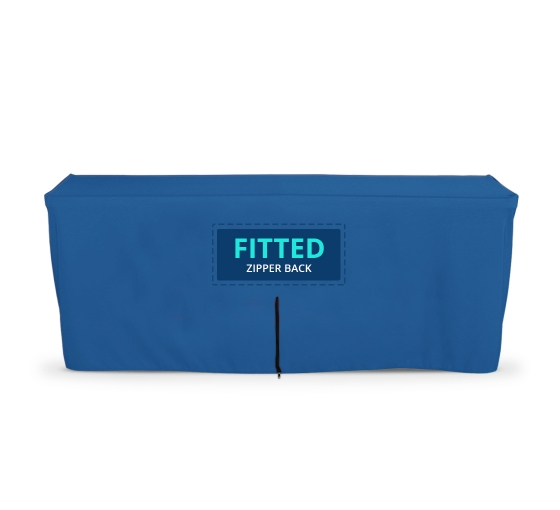 Fitted Table Cover - Zipper Back