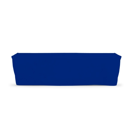 8' Fitted Table Covers - Blue
