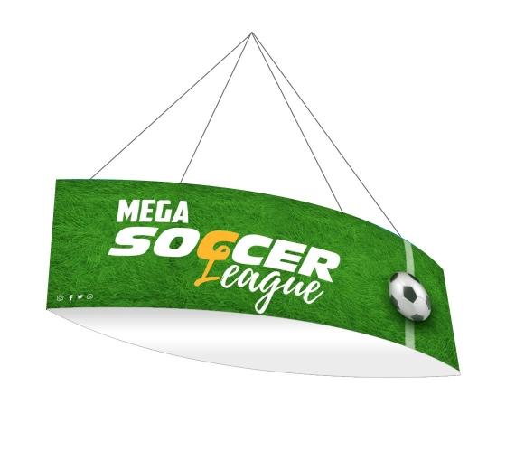 Sky Tube Football Hanging Banners