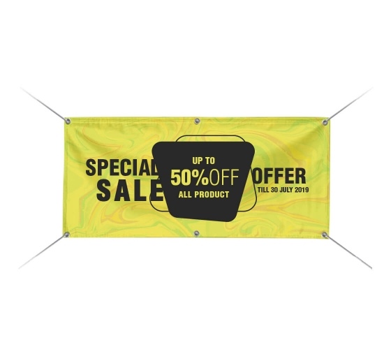 Sale  PVC Printed Banner 2002