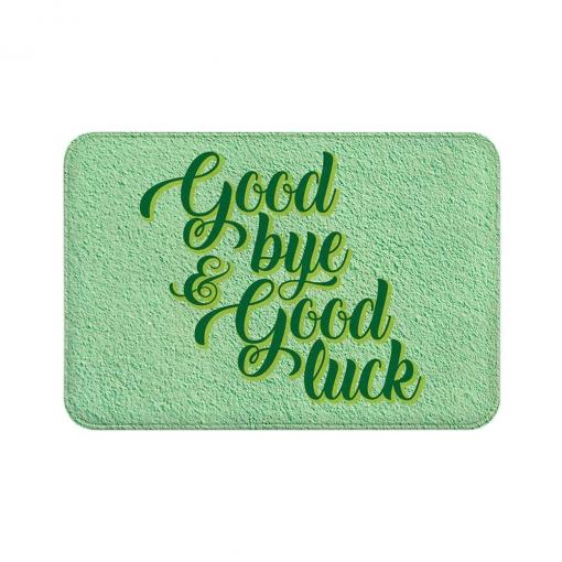 Good Bye Good Luck Floor Mats