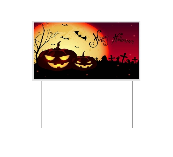 Halloween Yard Signs