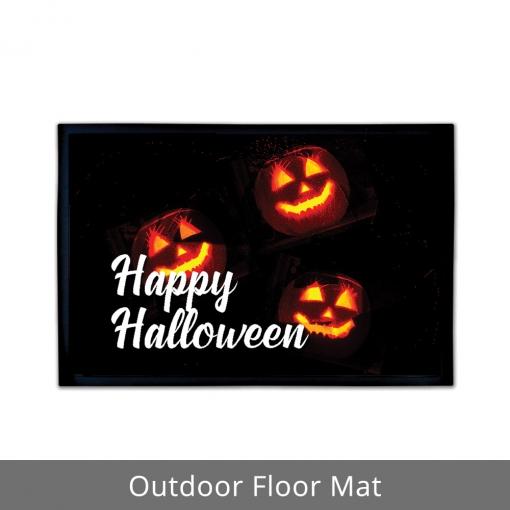 Happy Halloween Outdoor Floor Mats