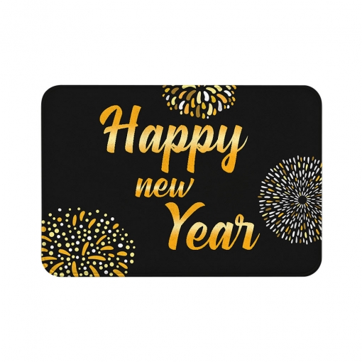 Happy New Year Floor Mats