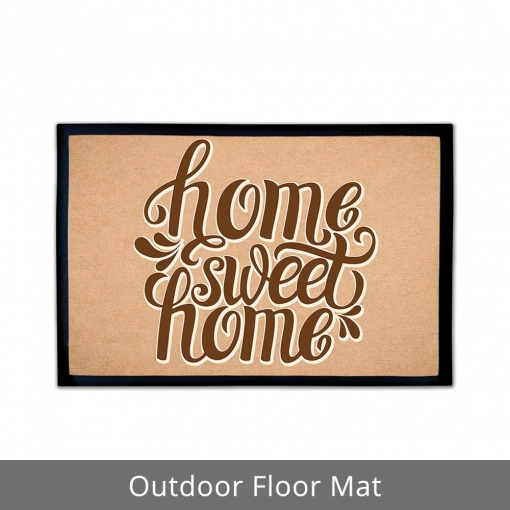 Home Sweet Home Outdoor Floor Mats