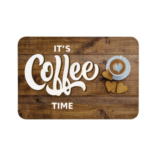 It's Coffee Time Floor Mats