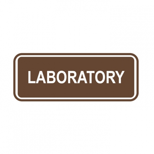 Laboratory Sign