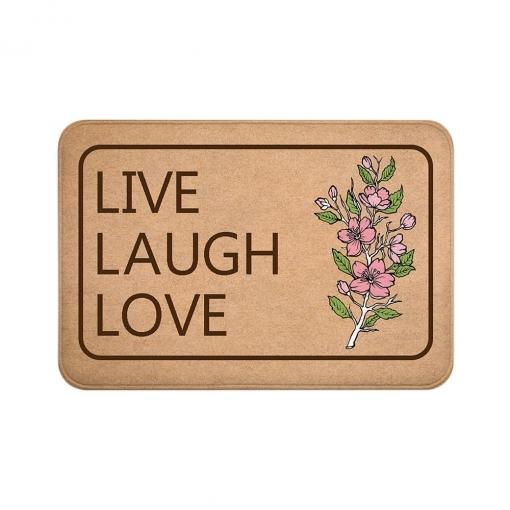 Live Laugh Love Floor Mats