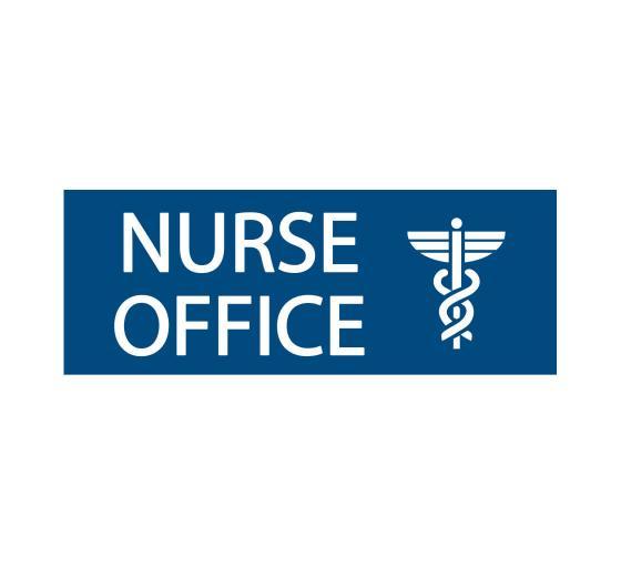 Nurses Office Sign