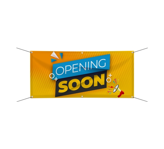 Opening Soon Banners